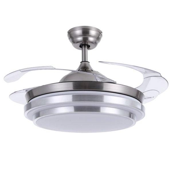 Devanti 42 Ceiling Fan Light With Remote Control Fans Lamp Modern Retractable Blade