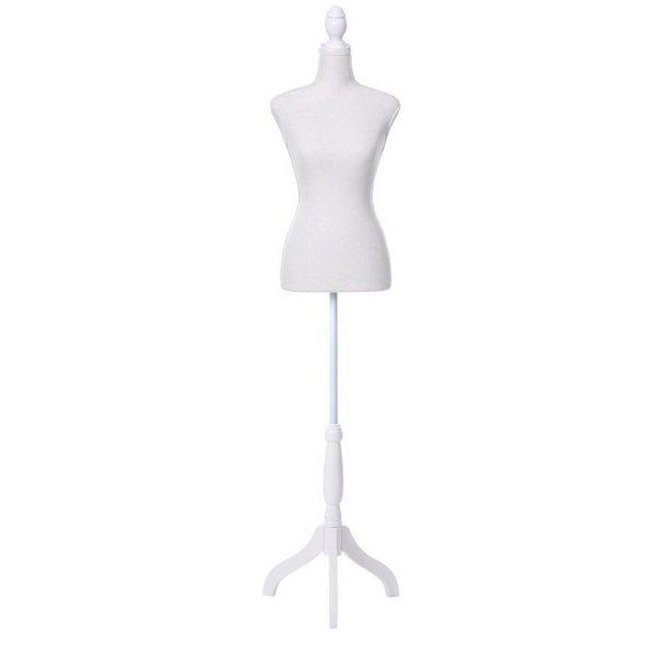 Female Mannequin 170cm Model Dressmaker Clothes Display Torso Tailor Wedding White