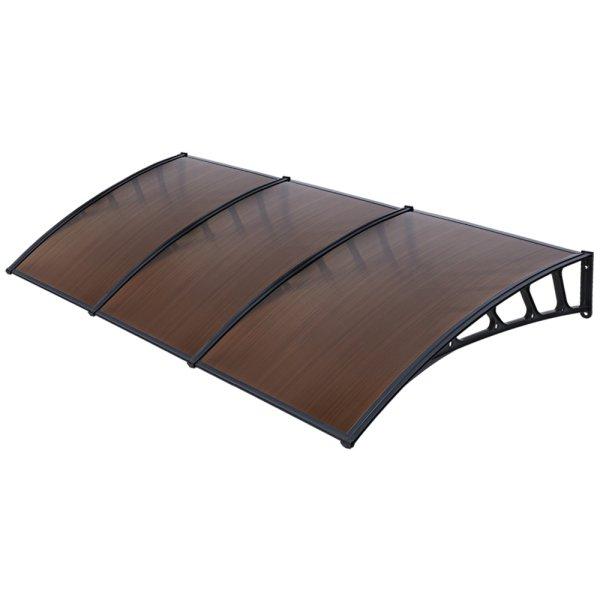 Instahut Window Door Awning Door Canopy Outdoor Patio Cover Shade 1.5mx3m DIY BR