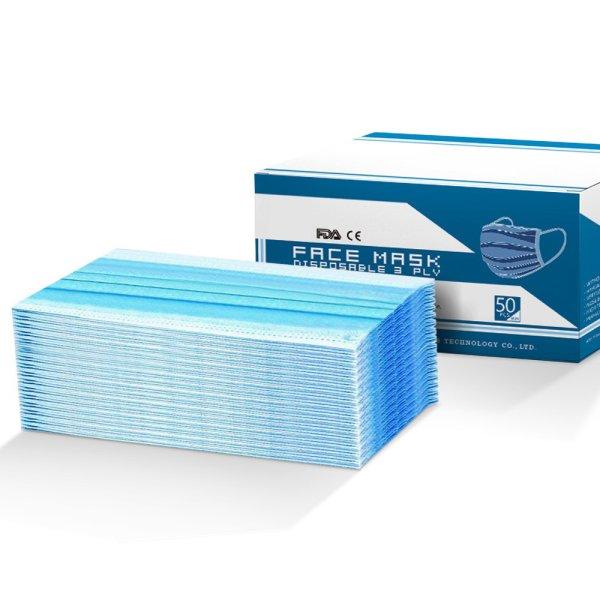Disposable Face Mask Anti Flu Dust Masks Anti PM2.5 3-Layer Protective 100PCS AU Stock